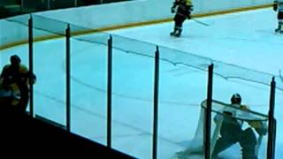 Sarnia Sting Training Camp - August 26, 2013 (Patrick White Goal)