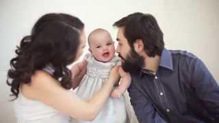 Семейный клип о детстве о счастье, любви, детях. Производство фотостудия Малина