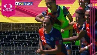 Gol de María López | Pumas 0 - 1 Puebla | Liga MX Femenil - J9 | Televisa Deportes