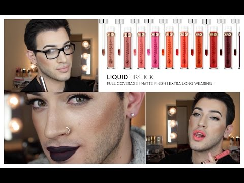 New Anastasia Beverly Hills Liquid Lipsticks Swatches/ Review | MannyMua