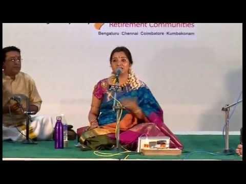 Carnatic Vocal   S Mahathi   Bharat Sangeet Utsav 2015   Coimbatore