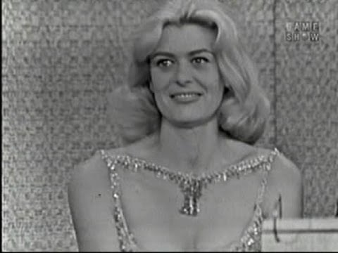 What's My Line? - Strange man invades the show; Melina Mercouri; Victor Borge [panel] (Oct 7, 1962)