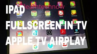 Video How to change iPad to fullscreen in tv with Apple tv AirPlay download MP3, 3GP, MP4, WEBM, AVI, FLV Agustus 2018