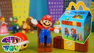 Juguetes Super Mario Bros en Mc Donald´s con tu Happy Meal de Noviembre