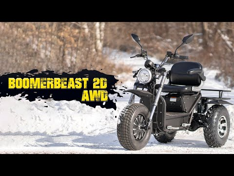 Daymak's Boomerbeast 2D AWD Mobility Scooter Has the Longest...