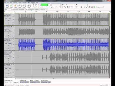 Tutorial: Mixing and Editing Multi-track OGG ( mogg) files