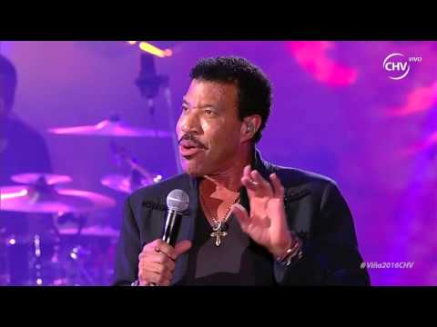Lionel Richie - Viña 2016 HD
