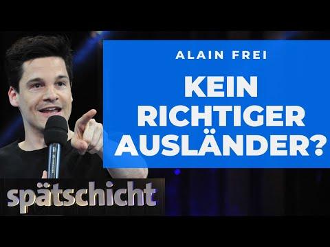 Alain Frei: Gute Ausländer, Schlechte Ausländer  | SWR Spätschicht