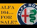 1991 Alfa 164!  A Quick Tour and Drive
