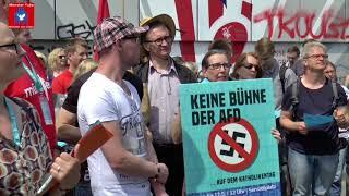 """Katholikentag Münster - Gegen die """"braune Brut"""" der AfD - Lothar König ev. Jugendpfarrer Jena"""