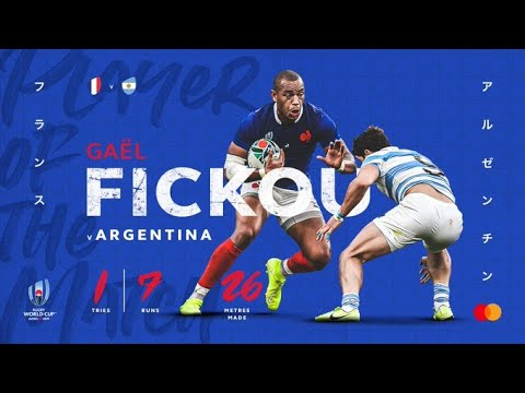 Gaël Fickou wins Mastercard Player of the Match
