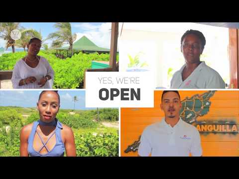 Yes, Anguilla's open all year round!