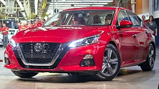 Nissan Altima Manufacturing – Nissan Altima Production and Assembly / Nissan Altima