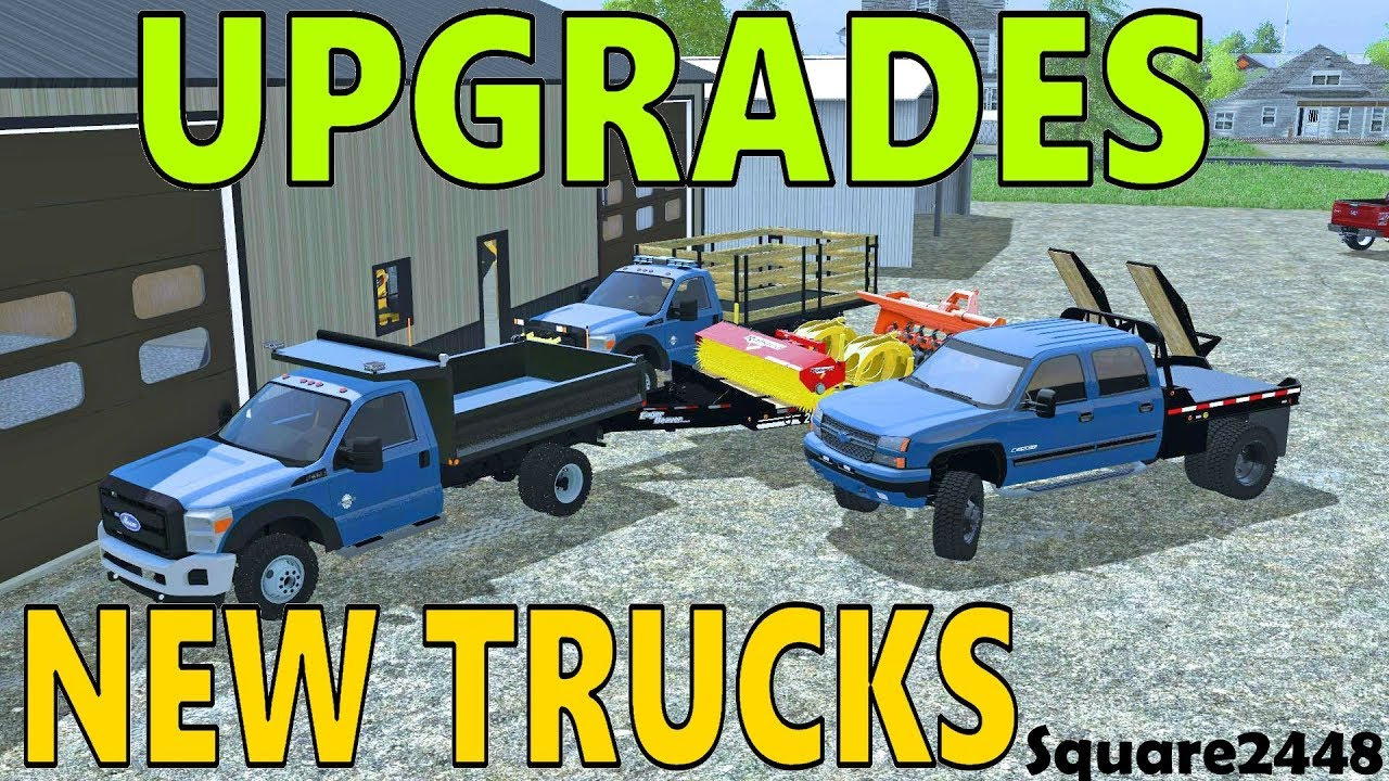 Farming Simulator 17 | Landscape Shop Upgrades | New Dump Trucks