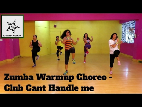 Zumba Warm up Choreo for The Club Can't Handle Me-Flo Rida