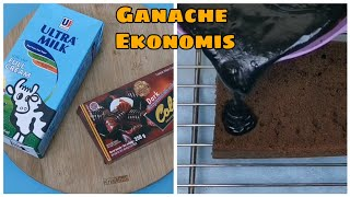 Coklat Ganache Ekonomis Mudah dibuat dan Enak Meski tanpa Whip Cream