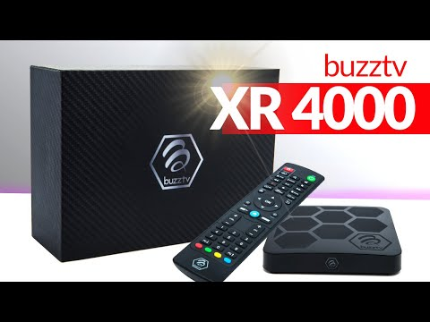 Buzztv XR 4000 Android 9.0 - Unboxing And Review