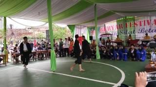 Beksi Sejati H. Hasbullah Kolat Pd. Serut 1 @Gebyar Festival Pencak Silat Betawi 15/7/17