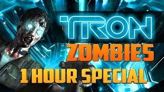 TRON ZOMBIES - 1 HOUR SPECIAL ★ Call of Duty Zombies (Zombie Games)