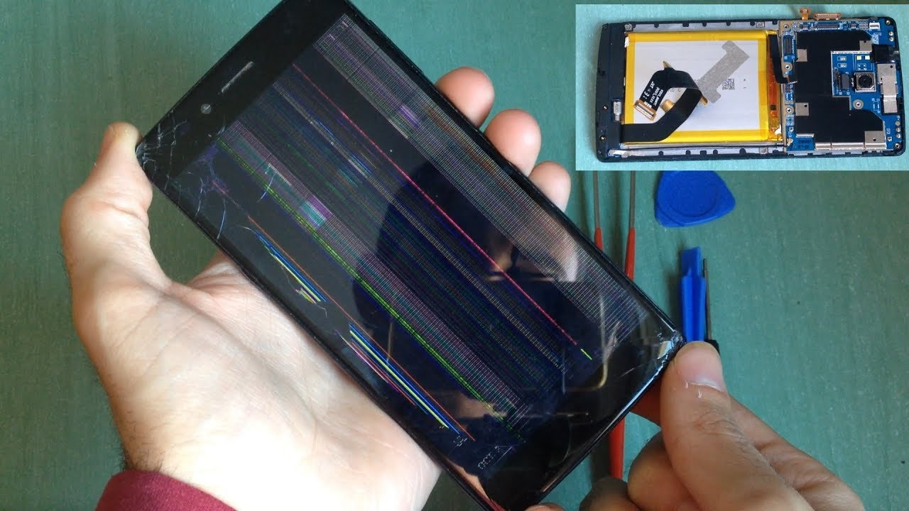 Vernee Apollo Lite - Screen replace tutorial (assembly & disassembly)