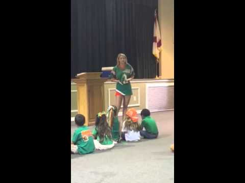 Charity Bowden at Hooper Academy Elementary Chapel