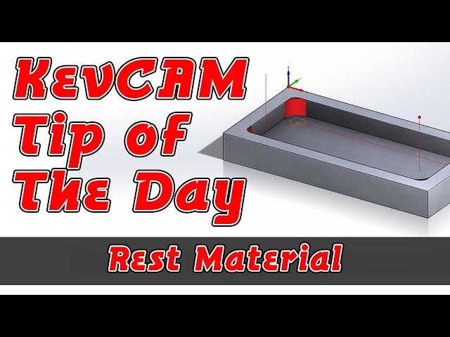 Tip of the Day - Rest Material