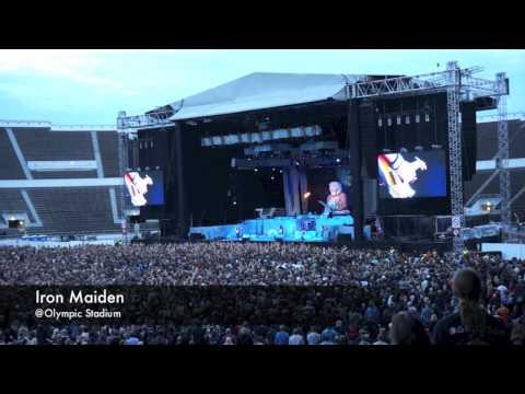 Iron Maiden @Olympic Stadium, Helsinki