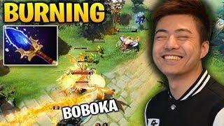 BurNIng  Ursa vs Boboka Batrider - Not Even Close Bro