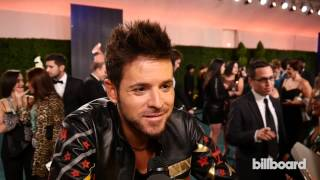 Pablo Lopez on the Latin GRAMMY Awards Red Carpet 2014