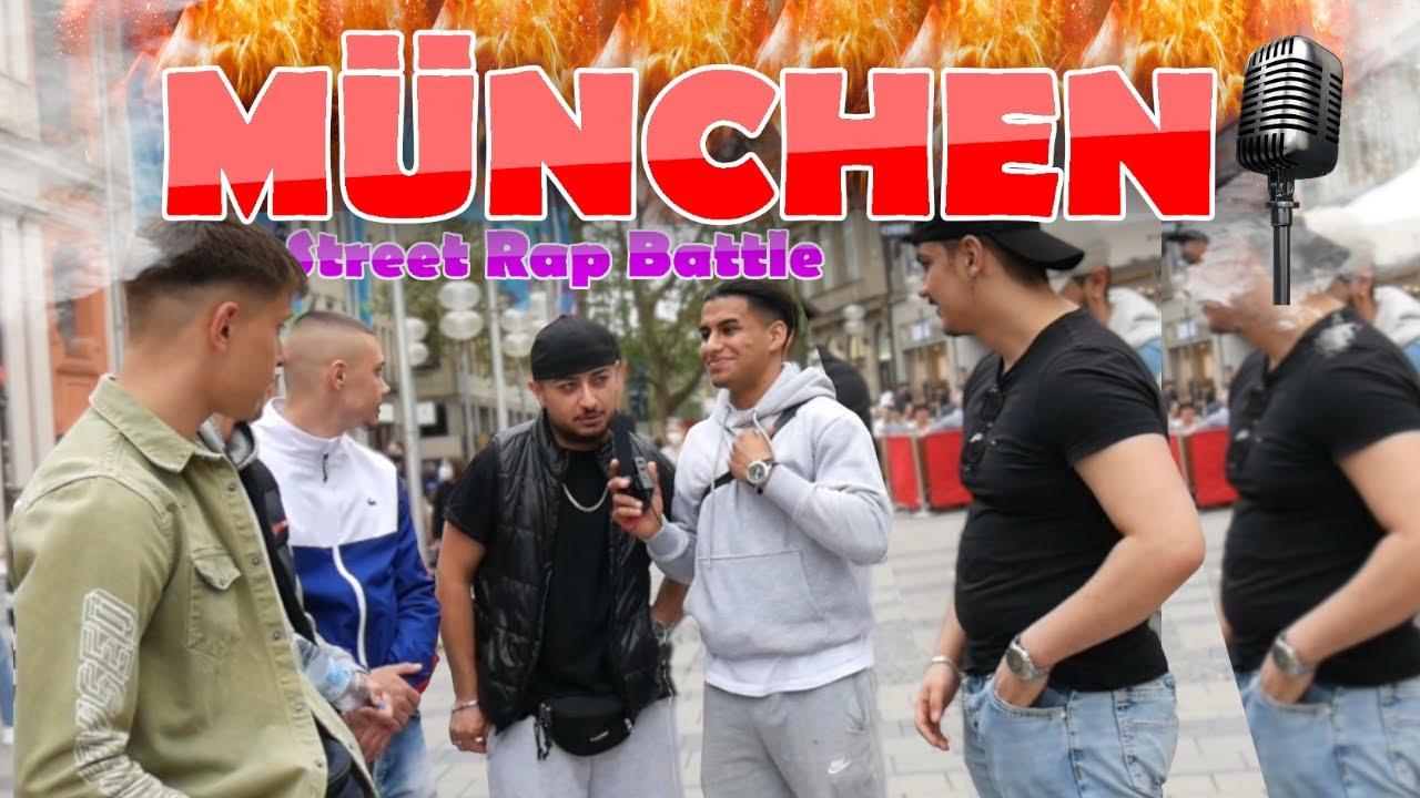 MÜNCHENS größtes STREETRAP-DUELL!! | Streetcomedy in München