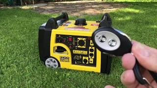 Champion 3100 Generator review
