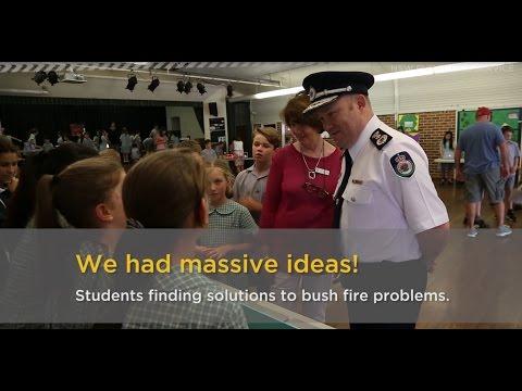 NSW RFS working in schools communities