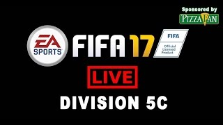 Fifa 17 Ultimate Team Division 5D Live και άνοδος