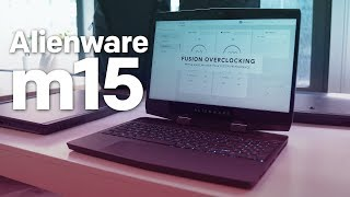 Alienware m15 hands-on: A thin, light gaming PC that packs some punch