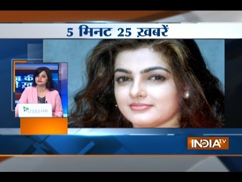 5 minute 25 khabrein   28th March, 2017 - India TV