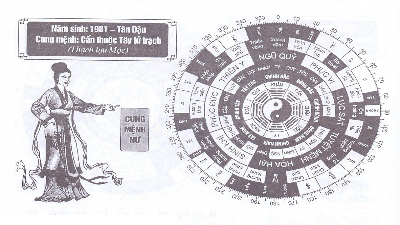 TỬ VI NỮ SINH NĂM 1981 - T N DẬU CUNG MỆNH PHONG THỦY HỢP TUỔI GÌ?