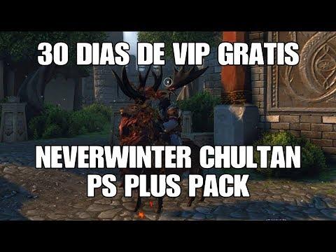 Neverwinter PS4 - 30 Dias De Vip Grátis, Neverwinter Chultan PS Plus Pack (PT-BR)