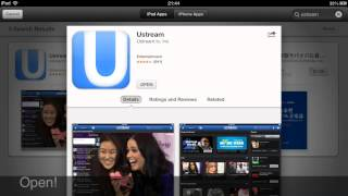 TUTORIAL [HD]: Watch live sports, streaming with IPad, iPhone, iPod for free!