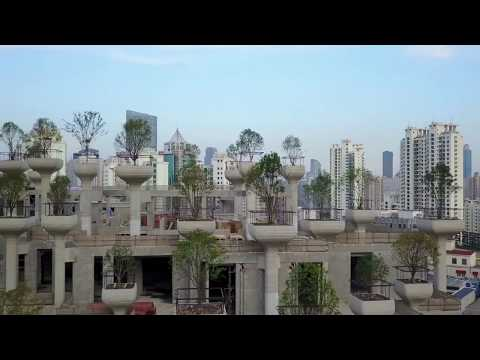 Heatherwick Studio's Shanghai 'tree mountain'
