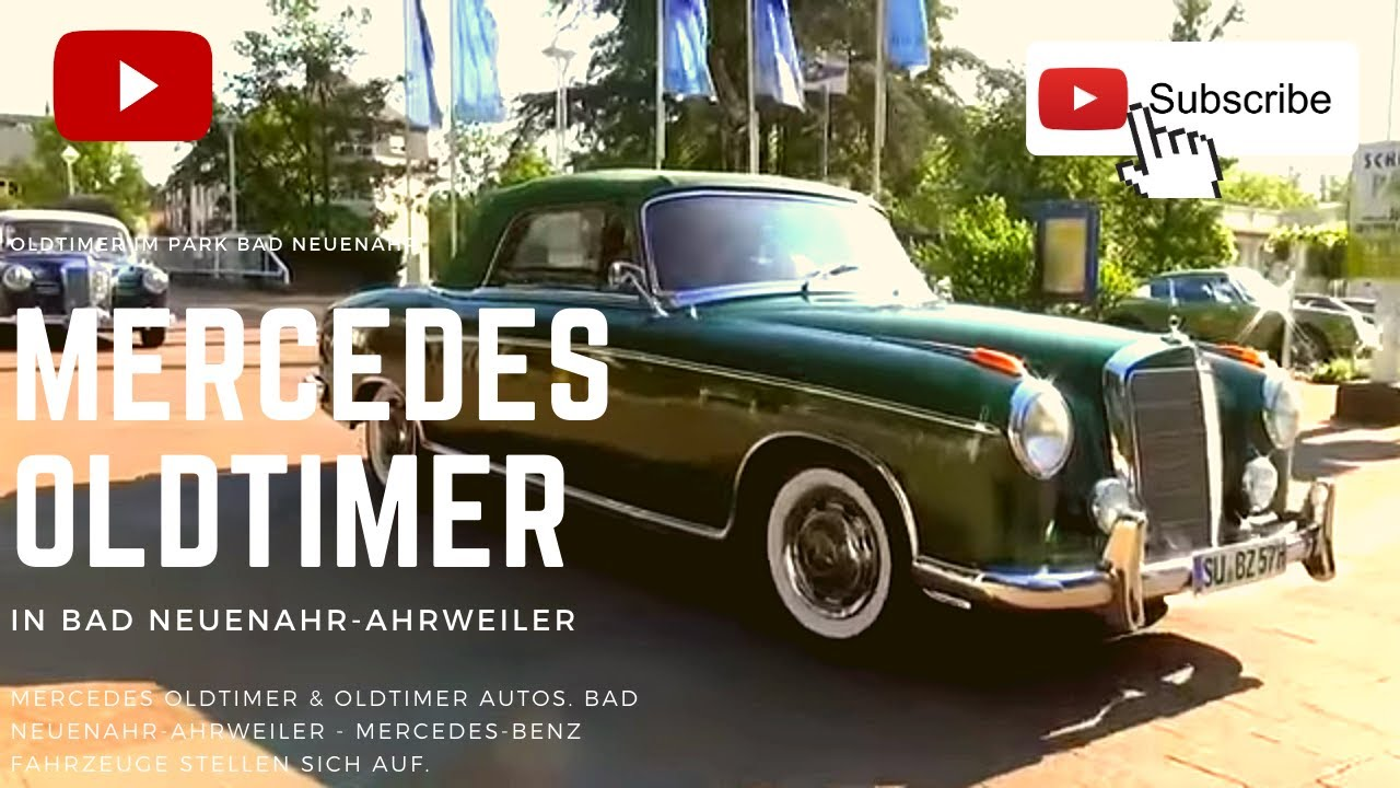 mercedes oldtimer mercedes benz youtube. Black Bedroom Furniture Sets. Home Design Ideas
