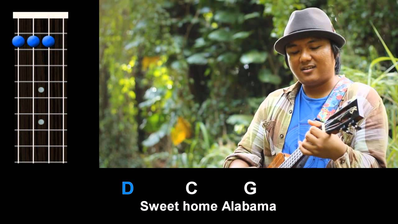 Sweet home alabama where the skies are so blue sweet home alabama lord, i'm coming home to you here i come alabama now muscle shoals has got the swappers and they've been known to pick a song or two lord they get me off so much they pick me up when i'm feeling blue now how about you? Sweet Home Alabama Lynyrd Skynyrd Ukulele Play Along Youtube