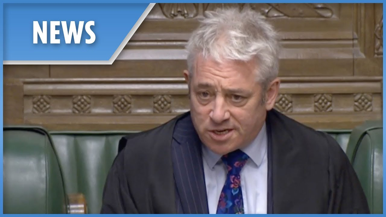 John Bercow on MPs' safety concerns