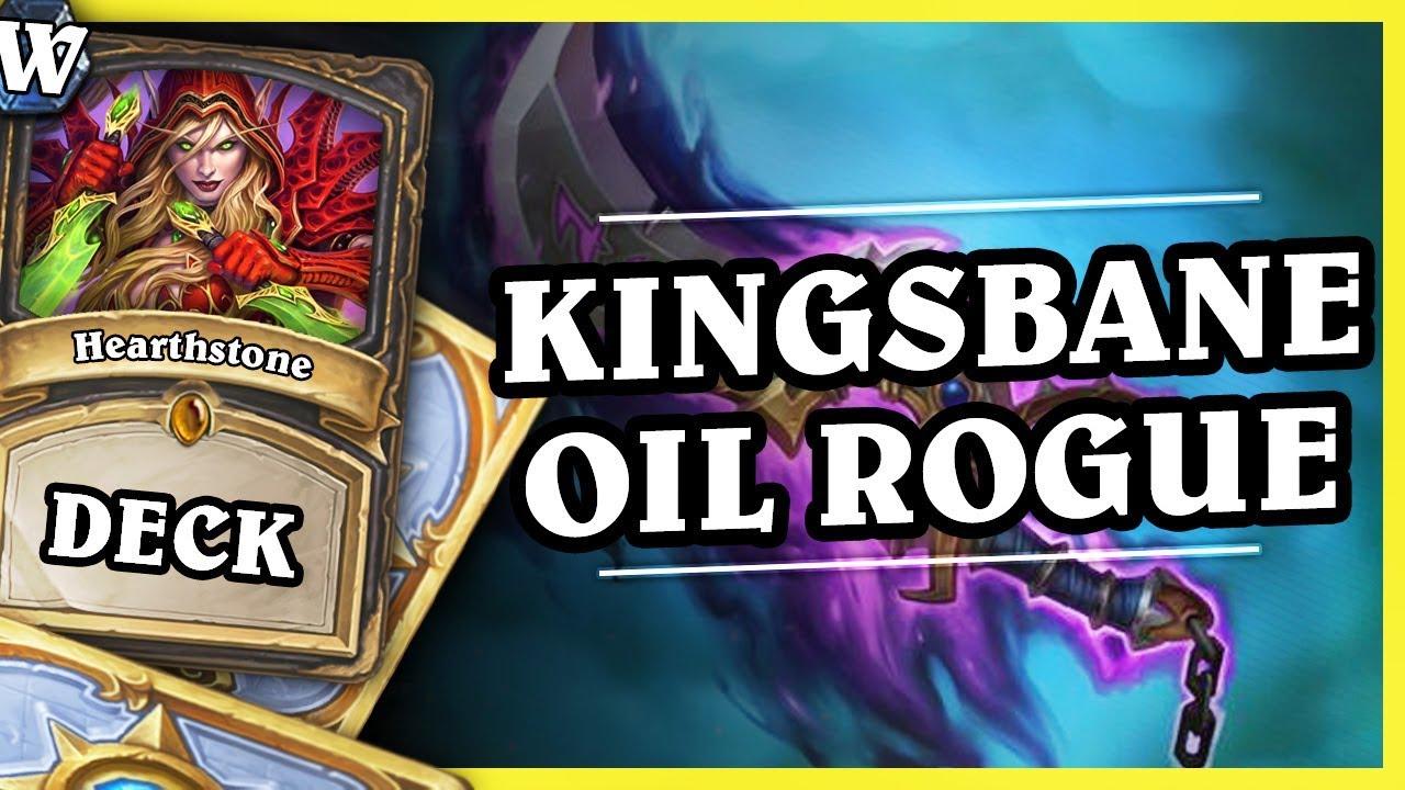 KINGSBANE OIL ROGUE – Hearthstone Deck Wild (K&C)