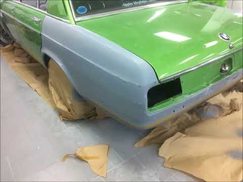Restoration of BMW 3.0 Si