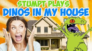 Dinosaurs In My House - Butt Stomps and Fire Balls (4 Player Gameplay)