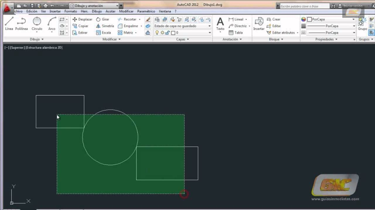 Autocad 2015. Tema 5.4 Geometría de los objetos básicos: Círculos - YouTube