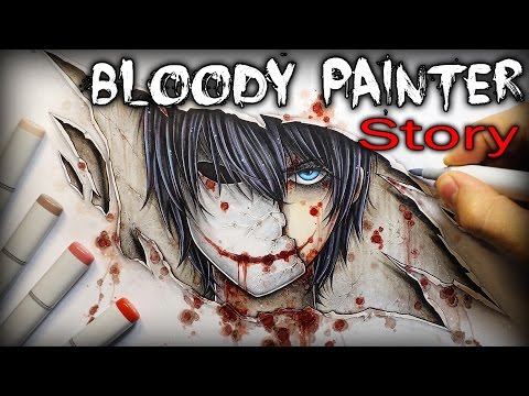 Bloody Painter: STORY - Drawing + Creepypasta (DeluCat)