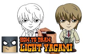 How to Draw Light Yagami | Death Note (Art Tutorial)
