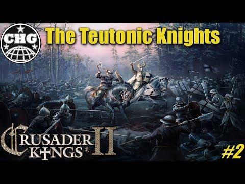 CK2: Holy Fury - The Teutonic Knights #2 - Deus Vult!