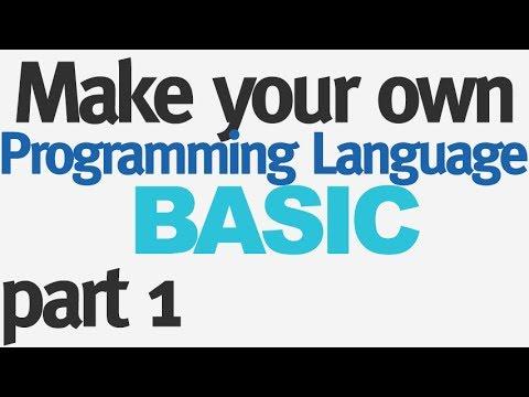 Make Your Own Programming Language - Part 1 - Lexer